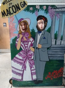 Me and George Hamming it up in Macon